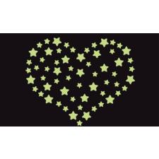 Csillagok foszforeszkáló falmatrica matrica