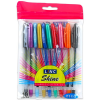 Csillámos zselés toll 10 darabos készlet