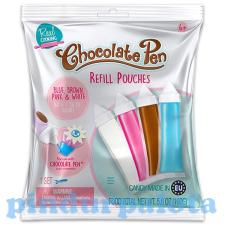 Csokivarázs toll utántöltő kréta, festék és papír