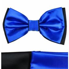 Csokornyakkendõ - Királykék-fekete nyakkendő