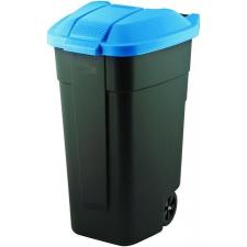 CURVER Görgős szemetes, műanyag, 110l, CURVER, kék/fekete szemetes