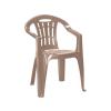 CURVER Mallorca műanyag kerti szék cappuccino színben