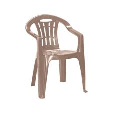 CURVER Mallorca műanyag kerti szék cappuccino színben kerti bútor