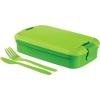 CURVER Snack box LUNCH &amp, GO doboz, zöld