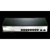D -Link 10-Port Gigabit Smart Switch with 2 SFP ports