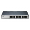D-Link 24-Port Fast Ethernet Smart Switch (fanless) (DES-1100-24)