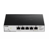 "D-Link ""5-Port Gigabit PoE Smart Switch with 1 PD port, no power adapter"