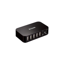 D-Link 7-Port Hi-speed USB 2.0 Hub hub és switch
