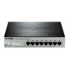 D-Link 8-Port Fast Ethernet PoE Smart Switch (8 x PoE ports, fanless) (DES-1210-08P)