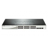 D-Link Switch 20x1000Mbps+4x1000/SFP Smart PoE (DGS-1210-24P)