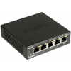 D-Link switch - 5x1000Mbps - fekete (DGS-105/E)