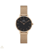 Daniel Wellington Classic Petite Melrose Rose Gold Black - DW00100217