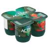 Danone Activia élőflórás, zsírszegény epres joghurt 4 x 125 g