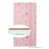 DANPOL Matrac habszivacs-kókusz réteggel rózsaszín különféle mintákkal | Rózsaszín |