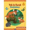 Dargay Attila Vuk és Karak - Kirakóskönyv