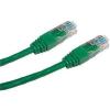 Datacom Adatátviteli, CAT6, UTP, 0.5m, zöld