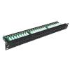 Datacom Patch Panel 19 &quot,UTP CAT5E 48 portos 1U DUAL BK (8x6p)