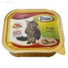 Dax 100 g alutálcás konzerv cicáknak marhahúsos