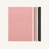 DAYCRAFT Signature Duo vonalas / pontozott jegyzetfüzet - A5 , rózsaszín/fekete