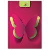 DAYLINER Colors, A5 Bullet, pontozott jegyzet, Butterfly