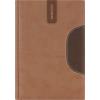 """DAYLINER Tárgyalási napló, B5, DAYLINER, """"Memphis"""", barna-csokoládé"""