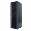 DBX START.LAN 42U rack 19 standing cabinet 600x1000mm black (perf.steel front door