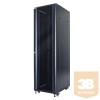 DBX START.LAN álló rack szekrény 42U 19'' 600x1000mm fekete