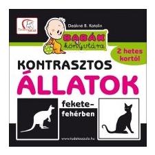 Deákné B. Katalin Babák könyvtára - Kontrasztos állatok fekete-fehérben gyermek- és ifjúsági könyv