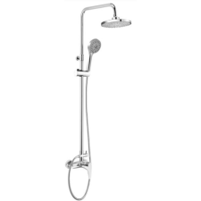 Deante PEONIA zuhanyfej csapteleppel 125x42 cm króm profil csaptelep