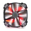 Deepcool XFAN 200RD 20cm piros (XFAN 200RD)