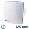DEKOR ventilátor fehér, LDT (125 mm) időkapcsolós