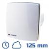 DEKOR ventilátor fehér, LDTHL (125 mm) idők., páraérz., görd.cs