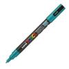 Dekormarker UNI POSCA PC-3M 0.9-1.3 mm, kúpos, SMARAGD ZÖLD
