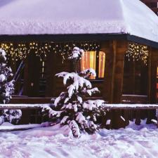 Dekortrend Jégszikrázó jégcsapfüzér, meleg és hideg fehér színben 101 karácsonyi dekoráció