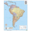 Dél-Amerika falitérkép - f&b