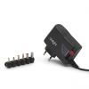 delight Univerzális adapter (55056B), DC 3-12V, 1,5A, 6db cserélheto dugó