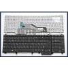 Dell Latitude E5520 fekete magyar (HU) laptop/notebook billentyűzet