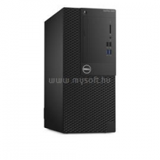 Dell Optiplex 3050 Mini Tower | Core i5-7500 3,4|12GB|500GB SSD|0GB HDD|Intel HD 630|W10P|3év (N015O3050MT_WIN1P-11_12GBS2X250SSD_S) asztali számítógép