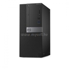 Dell Optiplex 5050 Mini Tower | Core i5-7500 3,4|32GB|0GB SSD|4000GB HDD|Intel HD 630|NO OS|3év (N036O5050MT02_UBU_32GBH4TB_S) asztali számítógép