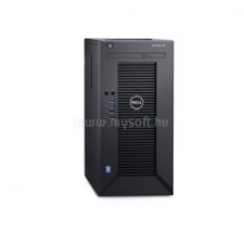 Dell PowerEdge Mini T30 | Xeon E3-1225v5 3,3 | 8GB | 1x 250GB SSD | 2x 2000GB HDD | nincs | 3év (DPET30-912052-11_S250SSDH2X2TB_S) szerver