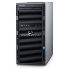 Dell PowerEdge T130 Tower H330 | Xeon E3-1220v6 3,0 | 8GB | 1x 250GB SSD | 1x 1000GB HDD | nincs | 3év (DPET130-70_NOHDD_S250SSDH1TB_S) szerver
