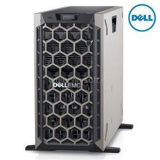Dell PowerEdge T440 Tower H730P+ 1x 4208 2x 495W iDRAC9 Enterprise 8x 3,5 | Intel Xeon Silver-4208 2,1 | 32GB DDR4_RDIMM | 2x 250GB SSD | 2x 2000GB HDD szerver