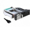 DELOCK 47209 5.25 Mobil Rack 1 x 2.5 + 1 x 3.5 SATA HDD-hez + 2 x USB 3.0