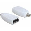 DELOCK Adapter Displayport mini male > Displayport