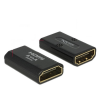 DELOCK adapter HDMI(F)-HDMI(F) High Speed HDMI with Ethernet 4k