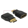 DELOCK adapter HDMI Mini-C(M)-HDMI(F) High Speed HDMI with Ethernet 4k
