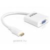 DELOCK Adapter HDMI-mini C male > VGA female