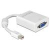 DELOCK adapter mini Displayport (M) - VGA (F)
