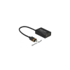 DELOCK Adapter SlimPort / MyDP male > VGA female + Micro USB female