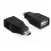 DELOCK Adapter USB 2.0-A female > mini USB male